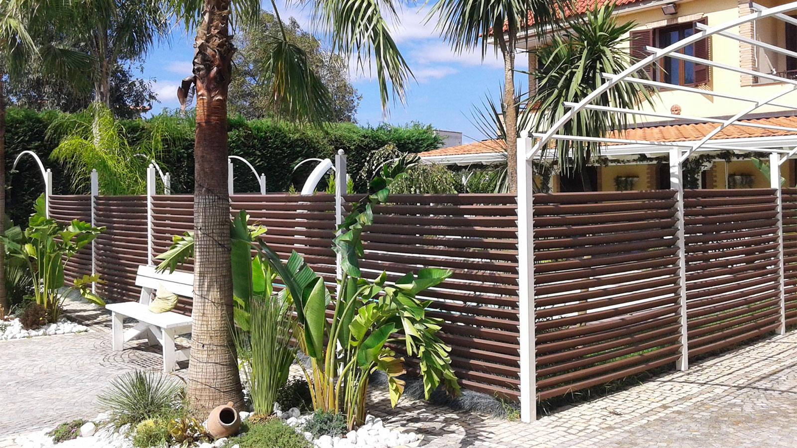 Separ recinzioni pergolati archivi tecnodeck - Recinzione casa prezzi ...
