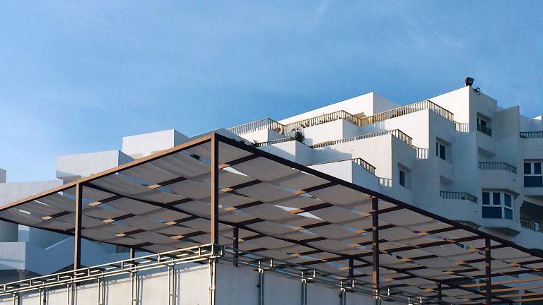 Hotel Habib pergolato panoramica angolo