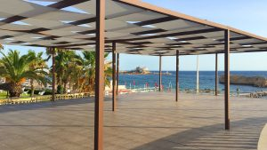 Hotel Habib pergolato terrazza