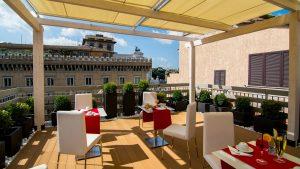 Hotel Piazza Venezia Roma Terrazza Esterno