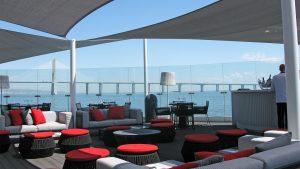 Myriad Sana Hotel Sesimbra Terrazza Particolare