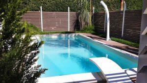 Progetto con recinzione e pavimento casa privata provincia di Napoli panoramica 2