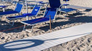 Stabilimento balneare trattoria Rossi dettaglio