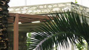 Villa privata Tunisia dettagli lato
