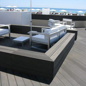 Aanzibar Resort terrazza dettaglio