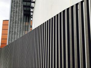 legno composito profili arredo urbano