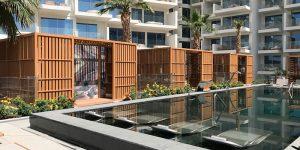 five palm swimmingpool